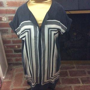Cynthia Rowley 100% Silk Tunic Dress, Size 10